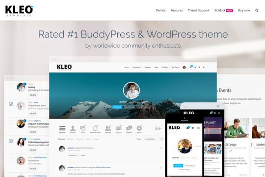 kleo_demo_simple_landing_page